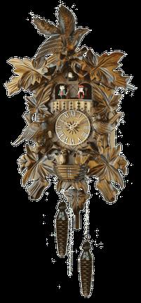 シュバルツバルトクロック「鳥の家族」