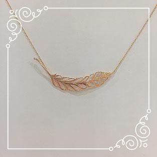 Cheravir「Plume」 ネックレス